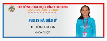 PGS TS. Ha Dieu Ly Khoa Duoc ĐHBD