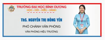 ths Nguyen thi hong yen - vpht dhbd