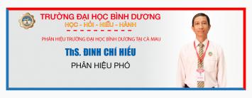 ths. Dinh chi hieu -phan hieu DHBD Ca Mau