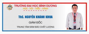 ths. Nguyen Khanh Khoa